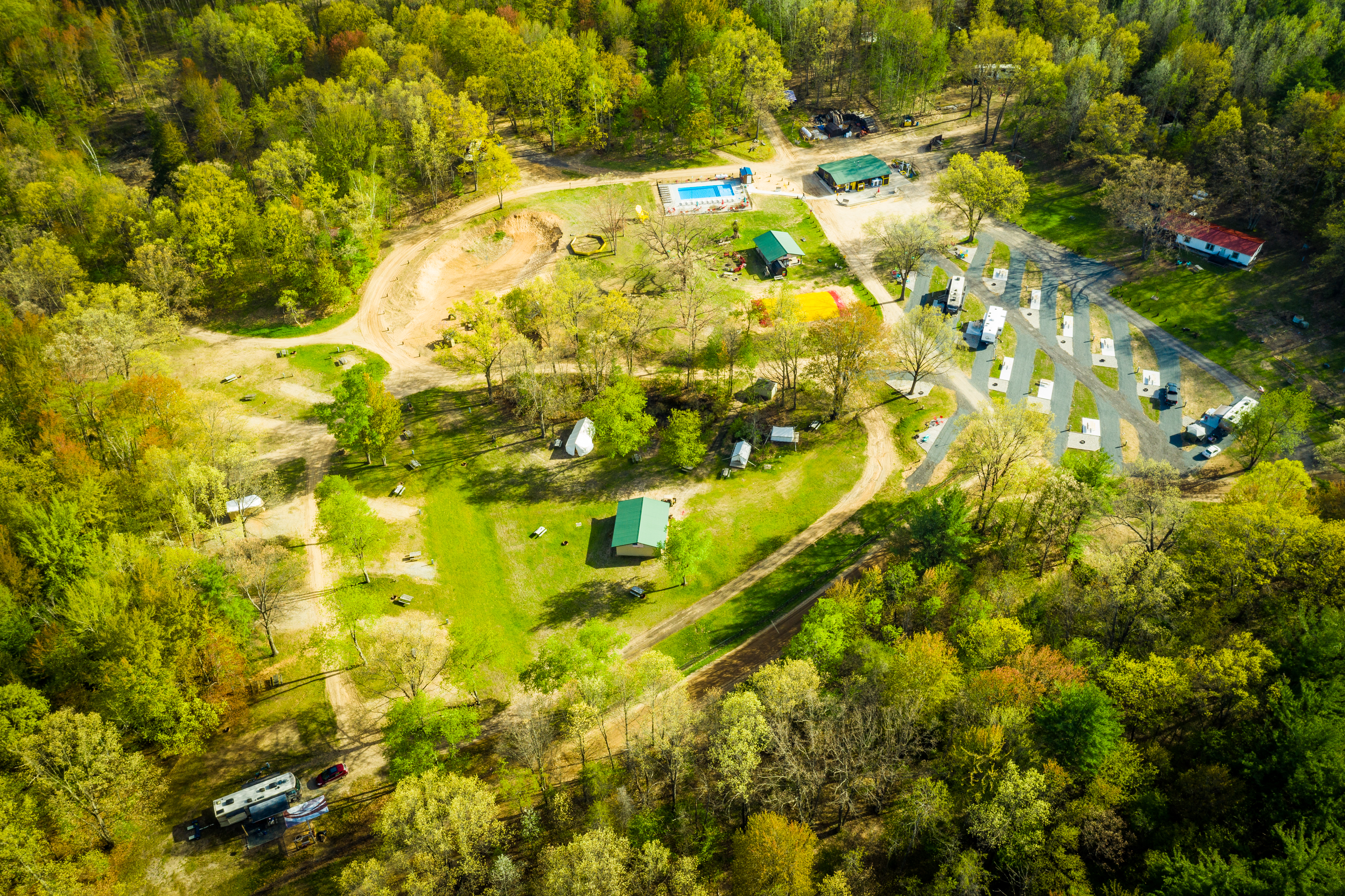 Ludington East KOA Campground